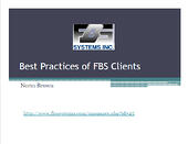 Best Practices of FBS Clients Thumbnail