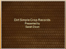 Dirt Simple Crop Records