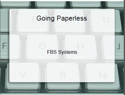 Going paperless thumbnail