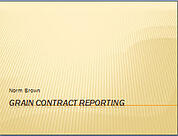 Grain Contract Reporting Thumbnail