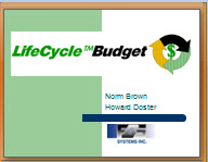 LifeCycle Budget