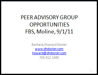 Peer Advisory Group thumbnail