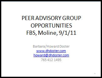 Peer Advisory Group thumbnail