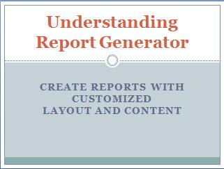 Understanding Report Generator thumbnail resized 600