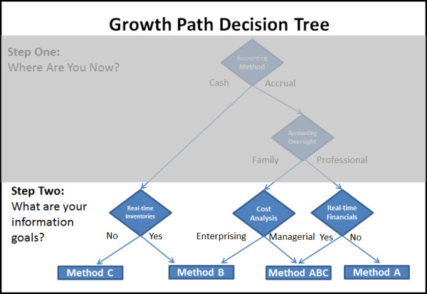 Growth Path Accounting Decision Tree