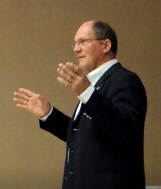 Wittman facing left